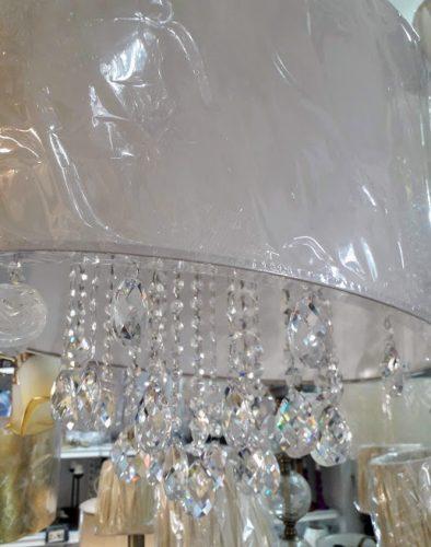 lamparas-salon-pantalla-con-cristal-elegante-bombillas-normales-marinisa-pantalla-comprar-almeria-electricidad-aranda