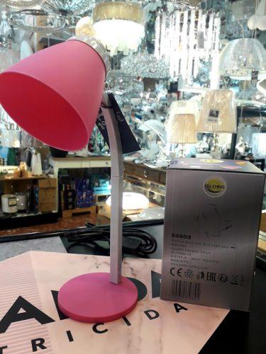 flexo-rosa-barato-nina-niña-e14-24803-globo-lighting-almeria-electricidad-aranda