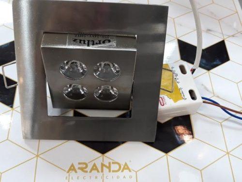 aro-led-4w-satinado-oritentable-cuadrado-electricidad-aranda-lamparas-almeria