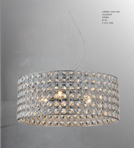 Colgante-lorena-cromo-50-electricidad-aranda-lamparas-almeria