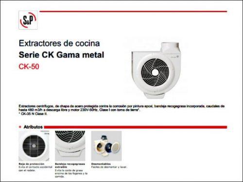 EXTRACTOR-COCINA-SP-CK50-METALICO-1.050-R.P.M.-120W-almeria-electricidad-aranda