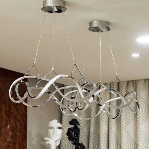 Lámpara Led Molly cromo Schuller 763824 comprar-led-electricidad-aranda-lamparas-almeria-