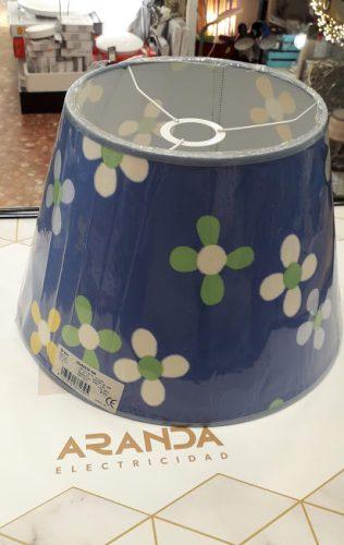 pantalla-infantil-flores-ilexpa-azul-electricidad-aranda-almeria-colgar