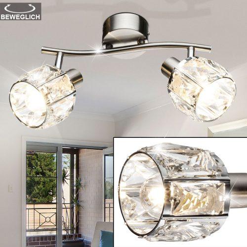 kris-54356-2-2LED-regleta-foco-niquel-cristal-electricidad-aranda-lamparas-almeria-