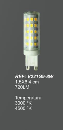 bombilla-led-g9-8w-electricidad-aranda-lamparas-almeria-