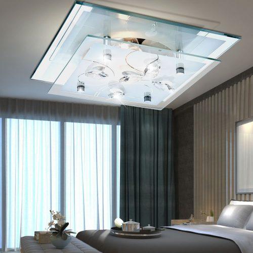 plafon-cristal-cromo-electricidad-aranda-lamparas-almeria-