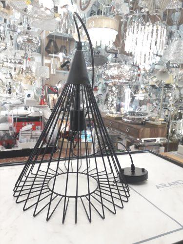 4018-il.lumino-electricidad-aranda-lamparas-almeria-colgante-cono-negro-original
