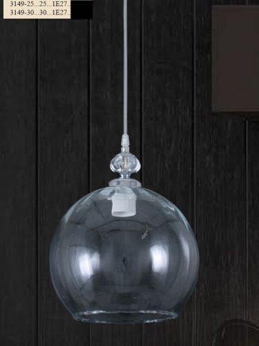 colgante-esfera-transparente-barata-silvio-3149-electricidad-aranda-lamparas-almeria-