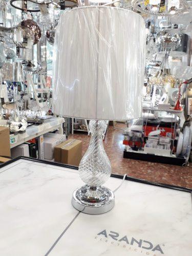 sobremesa-cromo-cristal-rizo-alto-elegante-barato-lamparas-almeria-electricidad-aranda