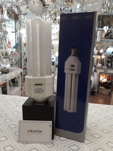 bombilla-bajo-consumo-45w-calida-e27-electricidad-aranda-lamparas-almeria-alg-barata
