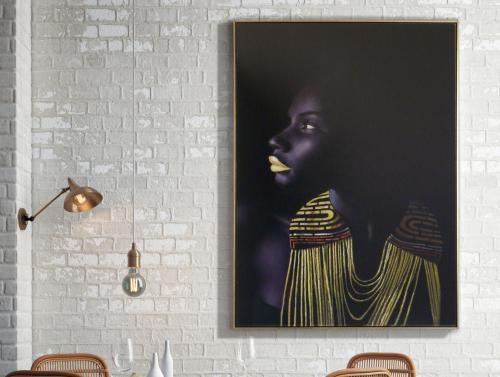lienzo-himba-schuller-mujer-africana-electricidad-aranda-lamparas-almeria-