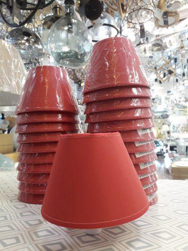pantalla-para-lampara-e14-pequeña-elegante-roja-frambuesa-coral-conica-barata-ilexpa-comprar-almeria-electricidad-aranda