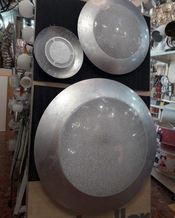plafón-led-diseno-grande-mando-distancia-pan-de-plata-electricidad-aranda-lamparas-almeria-comprar