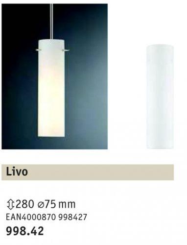 lIVO-Elemento-decorativo-per-sospensione-BASIC-Paulmann-Art-99842-cilindro-cristal-blanco