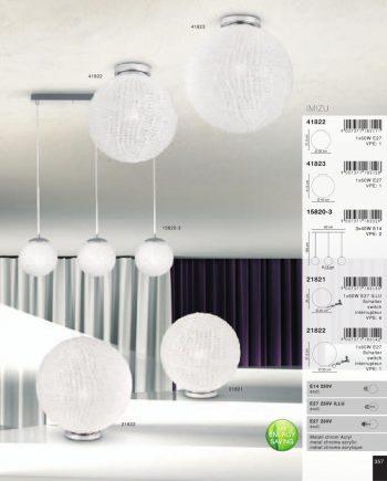 lampara-linea-cromo-esferas-regulable-15820-imizu-globolighting-electricidad-aranda-lamparas-almeria-