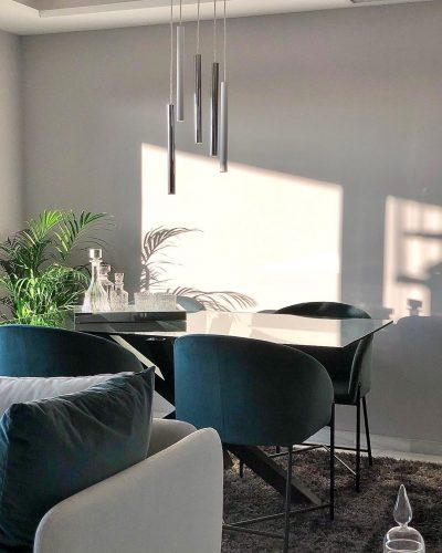 lampara-led-original-para-mesa-comedor-cromo-y-blanco