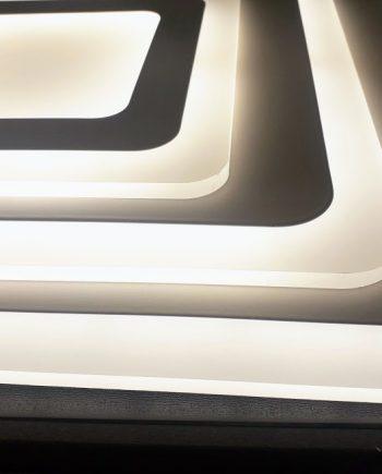 Plafón Led Fantasy 114w Led mando distancia Blanco y metacrilato 6003 Il.lumino