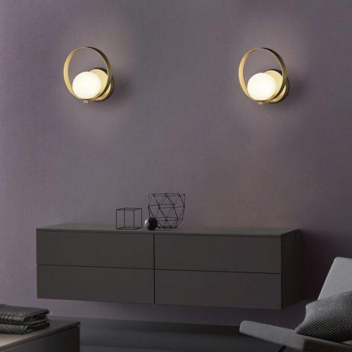 aplique-pared-halo-acb-esfera-opal-con-oro-electricidad-aranda-lamparas-almeria-