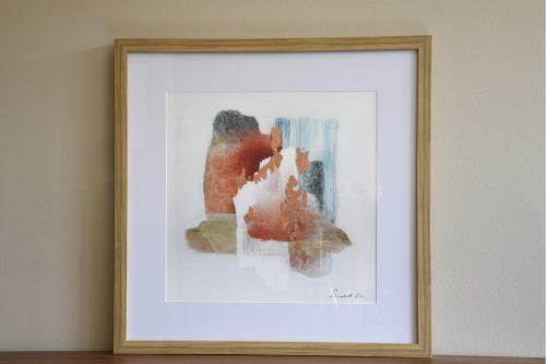 pintura-abstracta-enmarcada-con-cristal