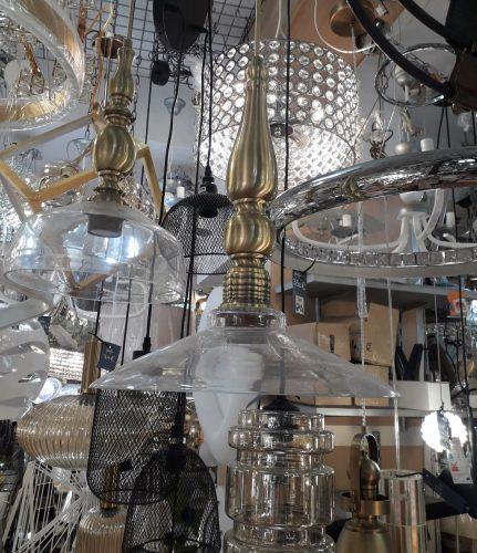 colgante-dorado-cristal-isla-cocina-dormitorio-electricidad-aranda-lamparas-almeria-