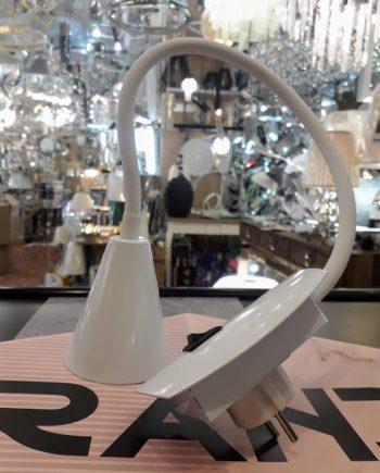 flexo-para-enchufe-blanco-con-interruptor-brazo-flexible-conico-dupi-electricidad-aranda-almeria