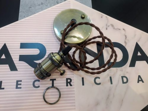pendel-bronce-dh-12.099-cable-trenzado-bombilla-e27-interruptor-rosca-para-pantalla-o-cristal-aranda-lampara-almeria