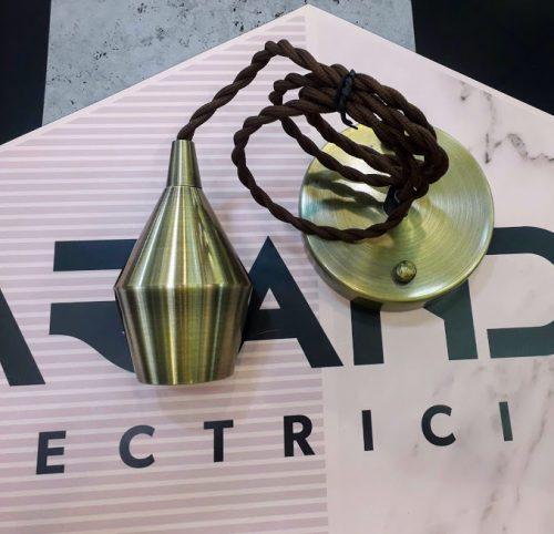 pendel-cobre-dh-12.099-dh-cono bombilla-elegante-cable-trenzado-electricidad-aranda-lampara-almeria