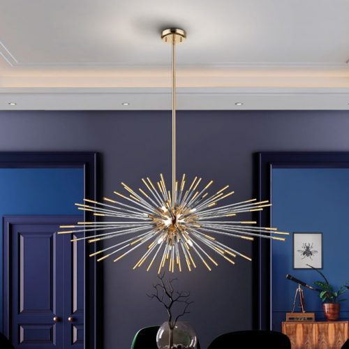 schuller-evasion-381635d-single-9-light-pendant-gold-with-remote