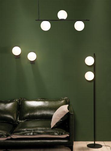 KIN lampara-aplique-negra-black-acb-COMPOSICION ambiente