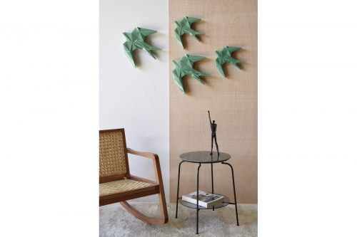 andurina-ceramica-pajaro-pared-ceramica-verde-vp-ourense
