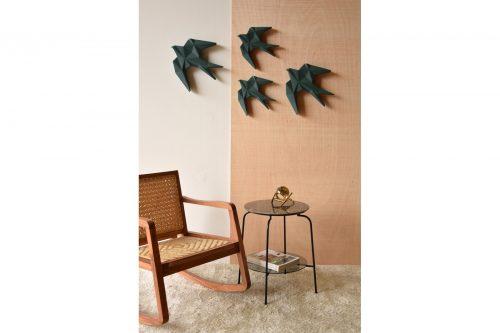 coleccion-andurina-verde-profundo-escultura-en-ceramica-pared-pajaro-ave-vp-ourense