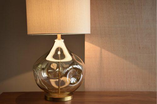 lampara-mesa-vidrio-ambar-con-pantalla-vp=ourense-grande-pantalla-lino