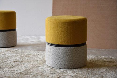 set-2-puf-cilindro-amarillo-y-beige-comprar-online-vp-ourense