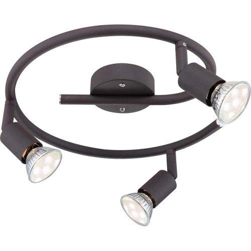 57382-3L-Oliwa-espiral-foco-marron-texturado=gu10-globo-electricidad-aranda-lamparas-almeria-