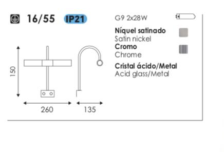 aplique-espejo-mirrow-16:55-acb-daviu-electricidad-aranda-lamparas-almeria-