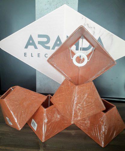 pantalla-para-lampara-naranja-cuadrada-e14-electricidad-aranda-lamparas-almeria-el-pantallazo