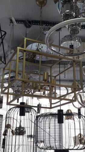 lampara-geometrica-oro-mate-silvio-5012-comprar-electricidad-aranda-lamparas-almeria-