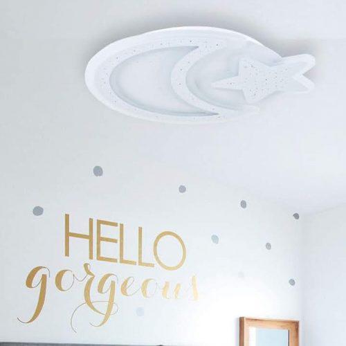 plafon-para-dormitorio-infantil-luna-estrella-led-comprar-en-electricidad-aranda-lamparas-almeria-