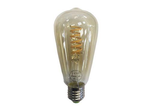 2601988-f-bright-bombilla-led-bellota-edison-caramelo-ambar-barata-comprar-electricidad-aranda-lamparas-almeria-
