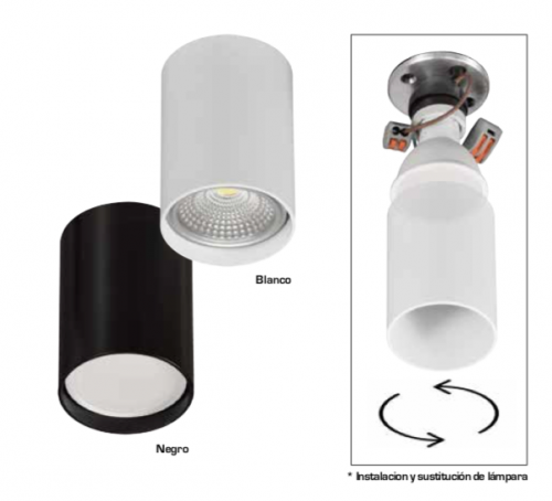 cilindro-para-gu10-incolamp-electricidad-aranda-lamparas-almeria-