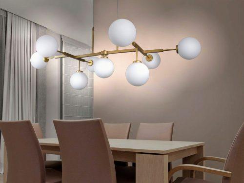 lamparas-silvio-oro-mate-esferas-opal-blanca-electricidad-aranda-lamparas-almeria-grande