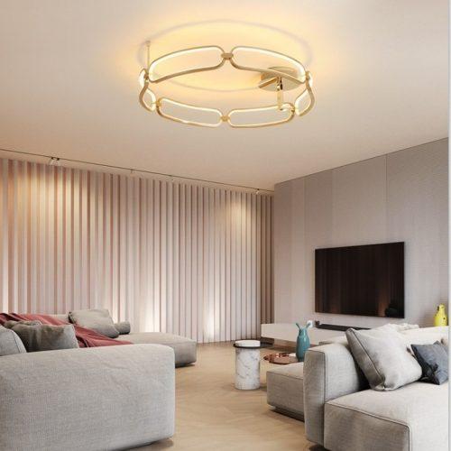 plafon-led-colette-schuller-dorado-electricidad-aranda-lamparas-almeria-