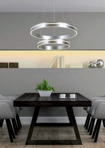 lampara-led-5118-il.lumino-doble-disco-niquel-satinado-electricidad-aranda-lamparas-almeria-