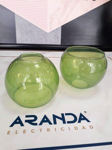 tulipa-cristal-verde-bola-esfera-pinza-e27-electricidad-aranda-lamparas-almeria-