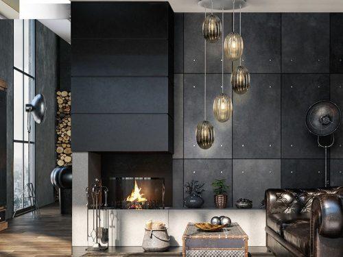 schuller-ovila-752268-5-light-led-ceiling-pendant-chrome-cognac-smoky-grey