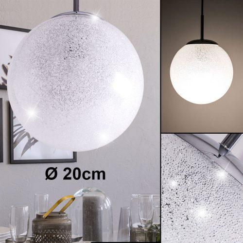 pendel-leuchte-decken-schlaf-gste-zimmer-hnge-glas-chrom-kristall-kugel-lampe-briloner-4010-018