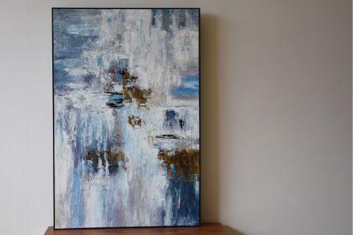 pintura-abstracta-vp-interiorismo-sobre-lienzo-con-marco
