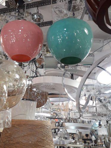 colgante-cristal-rosa-aguamarina-tegaluxe-electricidad-aranda-lamparas-almeria-