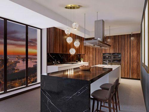 schuller-austral-354196-5-light-led-ceiling-pendant-gold