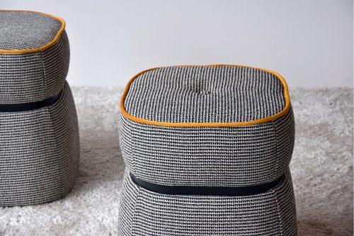 set-2-pufs-beige-negro-y-naranja-vp-interiorismo-comprar-online